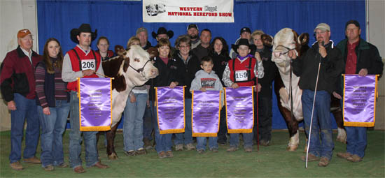 Horned Premier Breeder & Exhibitor and Polled Premier Breeder